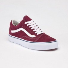 Кеды Vans Old Skool Bordo-White (WАV531)