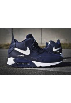 Кроссовки Nike Air Max Sneakerboot 90 Зима (V610)