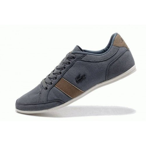 Кроссовки Lacoste Seed Casual Gray/Brown (Е-211)