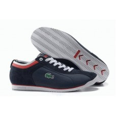 Кеды Lacoste Seed Casual Blue/Red (Е361)