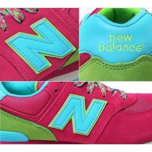 Кроссовки NEW BALANCE 574 Розовый (М672)