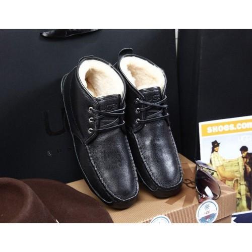 UGG Ботинки мужские кожа (S137)