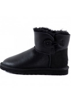 UGG Bailey Button Mini Черные (S622)