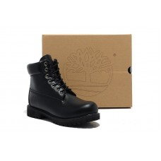 Ботинки Timberland 6 inch Smooth Black Made in China - 2