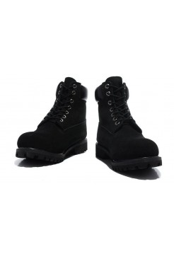 Ботинки Timberland 6 inch Black Made in China - 2
