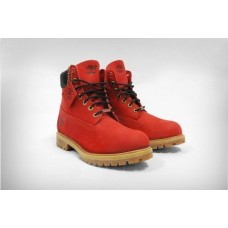 Ботинки Timberland 6 inch Ruby Red Made in China (О458)