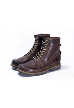 Ботинки Timberland Earthkeepers Rugged High Brown (О521)
