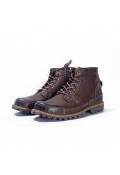 Ботинки Timberland Earthkeepers Rugged Mid Brown (О422)