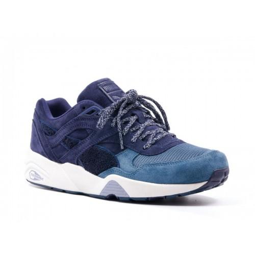 Кроссовки Puma Trinomic R698 blue (Е-531)