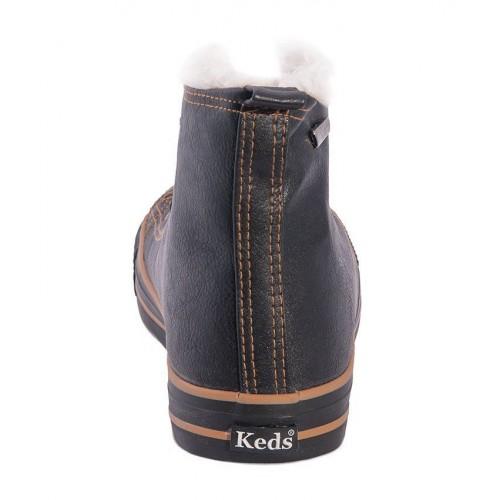 Кеды Keds зимние черные KW1 (VА111)