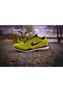 Кроссовки Nike Free Run Green/Pink (V-157)