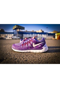 Кроссовки Nike Free Run Purple (V-158)