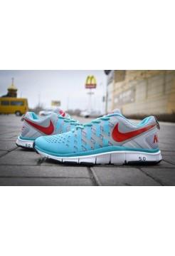 Кроссовки Nike Free Trainer 5.0  Blue (V-163)