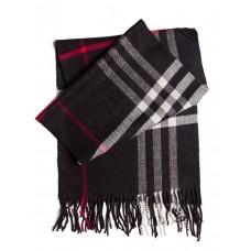 Кашемировый шарфик Черный