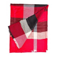 Кашемировый шарфик Burberry Красный