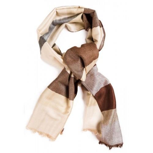 Кашемировый шарфик Burberry Бежевый