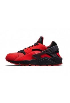 Кроссовки Nike Air Huarache Красные (V-213)