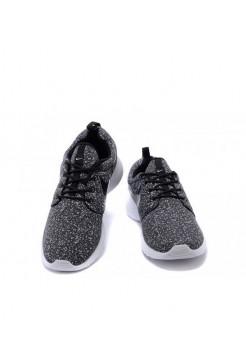 Кроссовки Nike Roshe Run Черный (V-412)