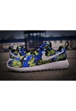 Кроссовки Nike Roshe Run Цветные (V-422)