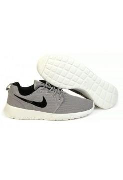 Кроссовки Nike Roshe Run Серые (V-325)
