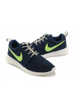 Кроссовки Nike Roshe Run Синий (V-326)