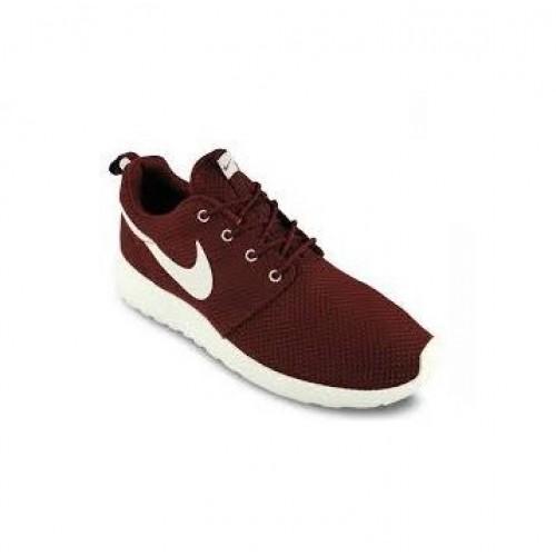 Кроссовки Nike Roshe Run Бордо (VМА321)