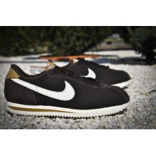 Кроссовки Nike Air Cortez Suede Black (V-347)