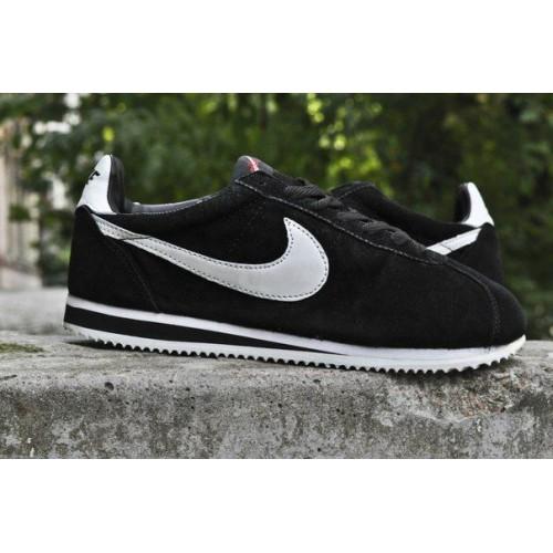 Кроссовки Nike Cortez Suede Черн (V-247)