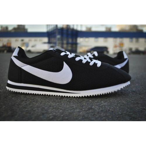 Кроссовки Nike Cortez Черн (V-246)