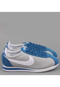 Кроссовки Nike Cortez Серые (V-242)