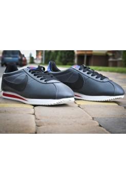 Кроссовки Nike Cortez Leather Серые (V-241)