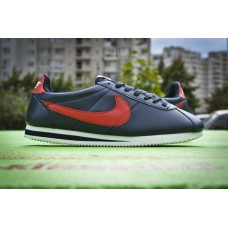 Кроссовки Nike Cortez Leather Синий (V-242)