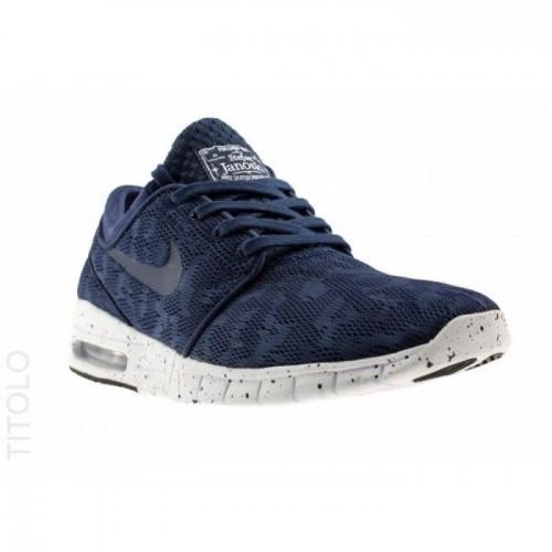 Кроссовки Nike Stefan Janoski Max Синие (А211)