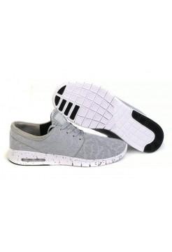 Кроссовки Nike Stefan Janoski Max Серые (V-211)