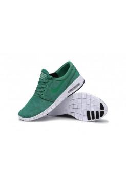 Кроссовки Nike Stefan Janoski Max Зеленые (V-211)
