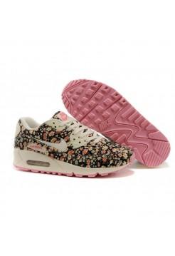Кроссовки Nike Air Max Цветы (V-164)