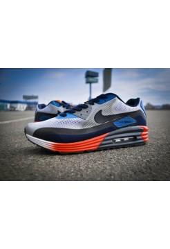 Кроссовки Nike Air Max 90 Lunarglide Grey (V-166)