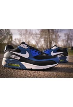 Кроссовки Nike Air Max 90 Синие (V-111)