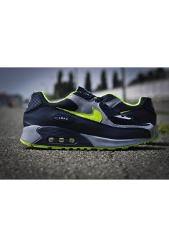 Кроссовки Nike Air Max 90 Черн (V-114)
