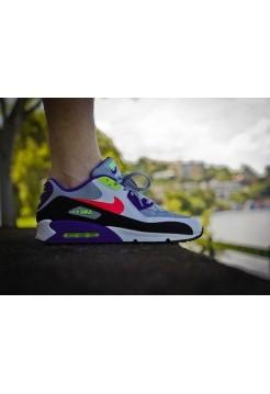 Кроссовки Nike Air Max 90 Цветные (V-118)