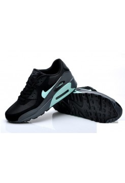 Кроссовки Nike Air Max 90 All Black (V-120)