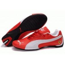 Кроссовки Puma Ferrari Low Red White (О755)