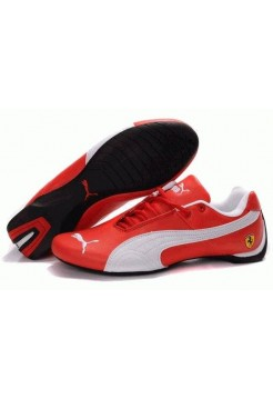 Кроссовки Puma Ferrari Low Red White (О755)