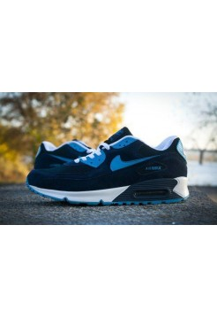 Кроссовки Nike Air Max 90 Blue (V-121)