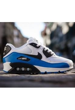 Кроссовки Nike Air Max 90 Белые (О124)