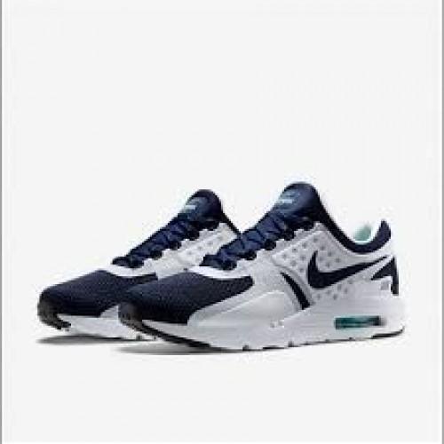 Кроссовки Nike Air Max Zero Черно-белый (Е128)