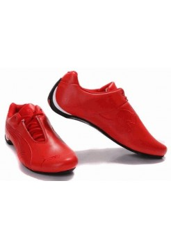 Кроссовки Puma Ferrari Low All Red (О469)