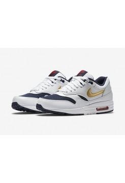 Кроссовки Nike Air Max 87 Olympic Белые (Е715)