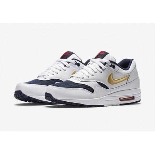 621c5d07e539 Кроссовки Nike Air Max 87 Olympic Белые (Е715)