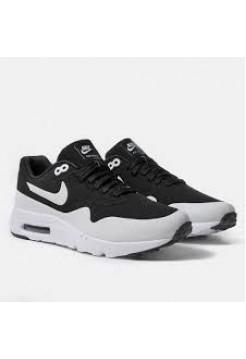 Кроссовки Nike Air Max 87 Черно-белые (Е717)